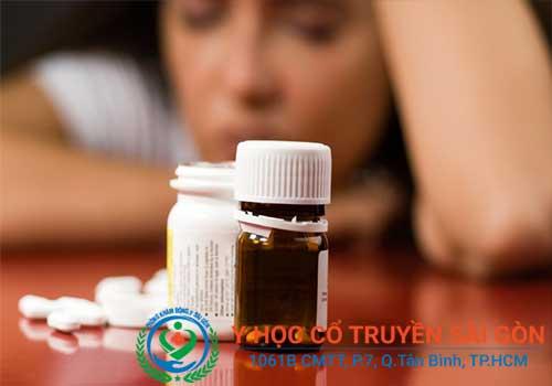 Các loại thuốc Tây uy chống trầm cảm thường có nhiều tác dụng phụ