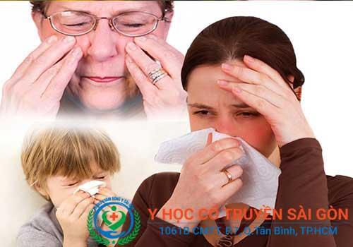 Bệnh viêm mũi dị ứng có thể điều trị bằng thuốc Đông y rất hiệu quả và an toàn