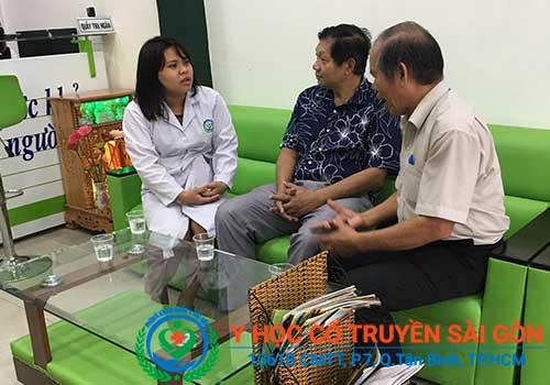 Phòng khám Y học Cổ truyền Sài Gòn được rất nhiều người bệnh tin tưởng tìm đến