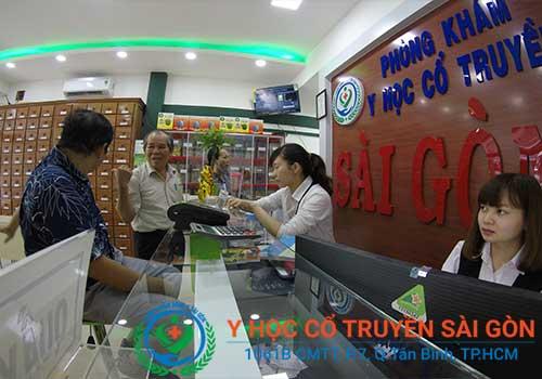 Phòng khám Y học Cổ Truyền Sài Gòn nhận được nhiều sự tín nhiệm từ phía người bệnh