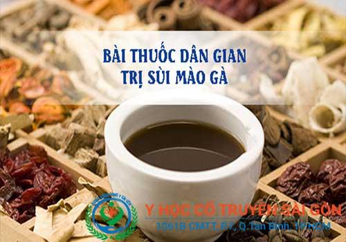 Bài thuốc chữa sùi mào gà giai đoạn đầu tại YHCT Sài Gòn