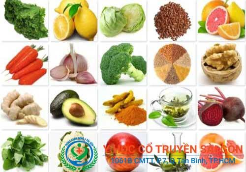 Bệnh chàm nên ăn gì kiêng ăn gì?