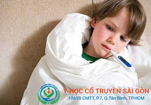 Viêm amidan gây sốt, đau họng và ho mạnh