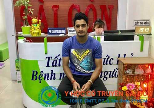 Có rất nhiều người trẻ tuổi đã được điều trị thành công khi đến với PK YHCT Sài Gòn