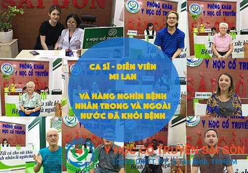 Nhiều người đã được điều trị khỏi bệnh tại Phòng khám Y học Cổ truyền Sài Gòn
