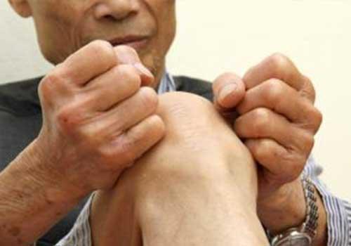 Chữa đau khớp gối bằng lá lốt chân gà cà tím có tốt không?