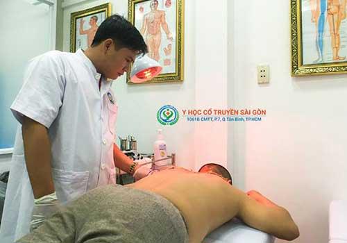 Phòng khám Y học Cổ truyền Sài Gòn chữa viêm dây thần kinh cánh tay, vai gáy và đầu bằng nhiều phương pháp YHCT hiệu quả cao
