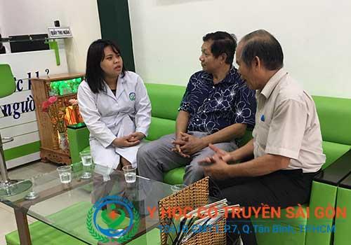 Phòng Khám Y Học Cổ Truyền Sài Gòn - địa chỉ điều trị và chữa tràn dịch khớp gối bằng Đông y ở TPHCM uy tín