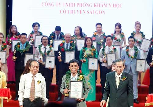 Phòng khám Y học Cổ truyền Sài Gòn được vinh danh Thương hiệu dẫn đầu tại TPHCM