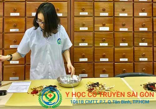 Bài thuốc Đông y chữa viêm da dị ứng tại PK Y học Cổ truyền Sài Gòn