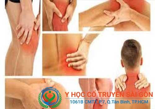 Điều trị và chữa bệnh đua nhức cơ bắp tay, vai, chân tại nhà hiệu quả không
