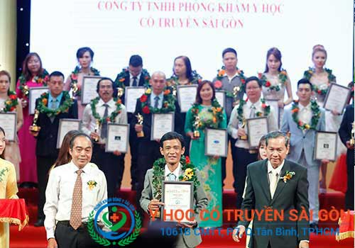 Phòng khám Y học Cổ truyền Sài Gòn được vinh danh trong TOP 10 thương hiệu dẫn đầu