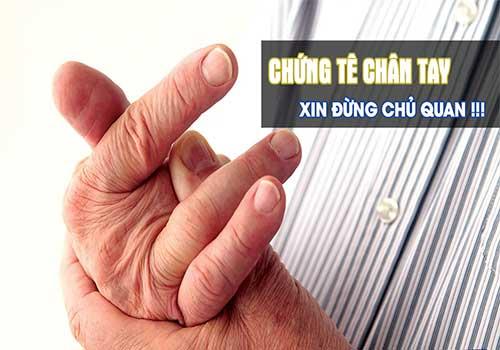 Khám và chữa bệnh tê tay chân ở đâu tốt TPHCM?