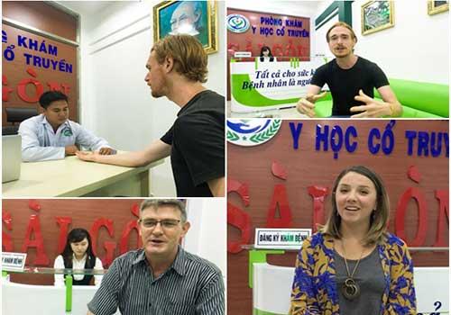 Nhiều bệnh nhân đã được hỗ trợ điều trị khỏi bệnh tại YHCT Sài Gòn