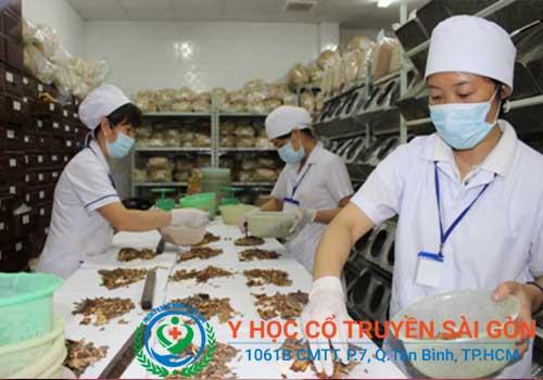 Phòng khám Y học Cổ truyền Sài Gòn có nhiều bài thuốc chữa bướu cổ rất hiệu quả