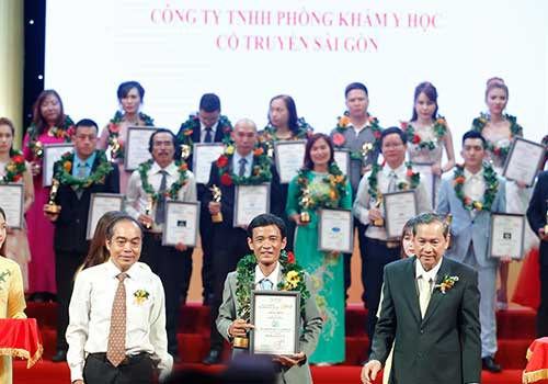 Phòng khám Y học Cổ truyền Sài Gòn - Đơn vị đạt danh hiệu Thương Hiệu Dẫn Đầu