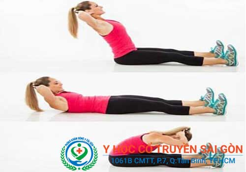 Bài tập chữa đau lưng đơn giản mà hiệu quả tư thế cuộn người