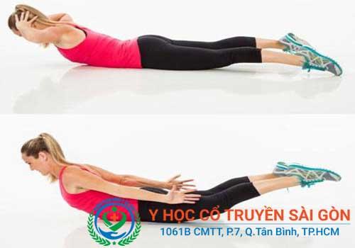 Những bài tập thể dục chữa đau lưng hiệu quả mà đơn giản