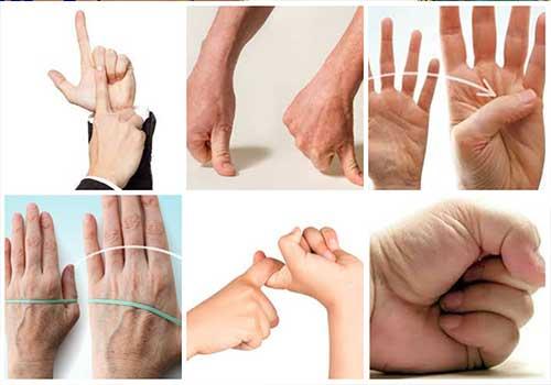 Phục hồi chức năng đốt ngón tay, đau thắt lưng