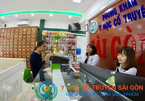 Phòng khám Y học Cổ truyền Sài Gòn được nhiều người tin tưởng tìm đến