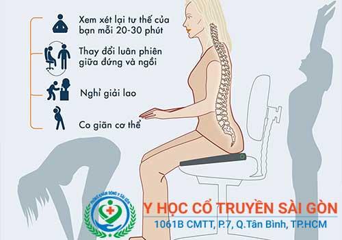 Knh nghiệm và mẹo chữa đau lưng bằng việc thay đổi tư thế làm việc