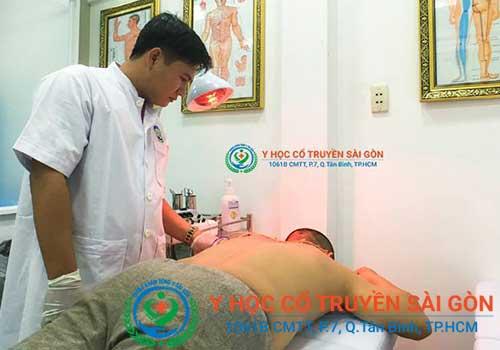 Chữa bệnh đau vai gáy bằng vật lý trị liệu tại Phòng khám Y học Cổ truyền Sài Gòn