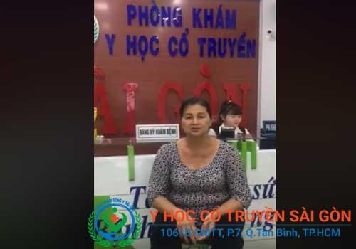 Bà Nguyễn Thị Không chữa bệnh tại đông y sài gòn