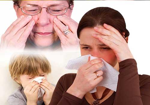 Triệu chứng, dấu hiệu và biểu hiện của viêm mũi dị ứng