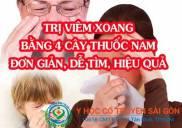 Cây thuốc Nam đặc trị viêm xoang mũi